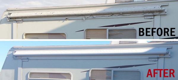 Rv Slide Covers : Rv awning repair installation camper awnings phoenix